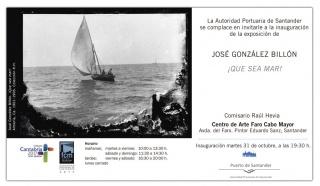 José González Billón. ¡Que Sea Mar!