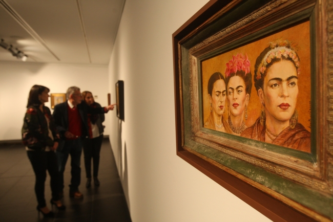 Frida Kahlo. La vida como obra de arte – Cortesía de la Fundación Unicaja