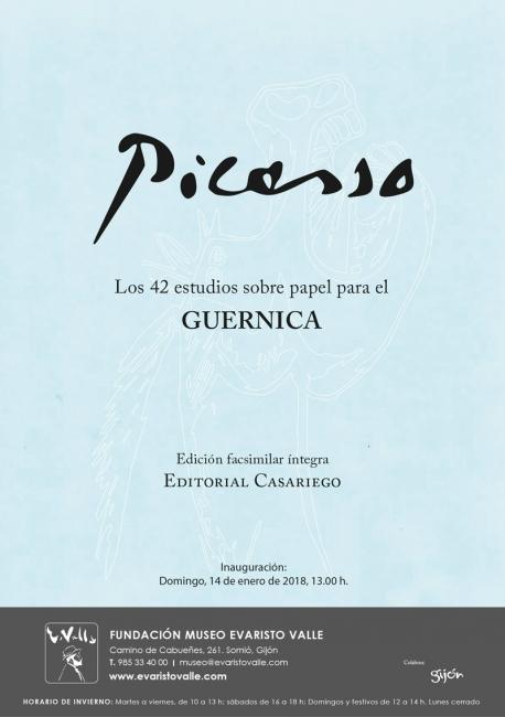 Picasso. Los 42 estudios sobre papel para el Guernica