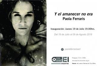 Flyer Paola Ferraris