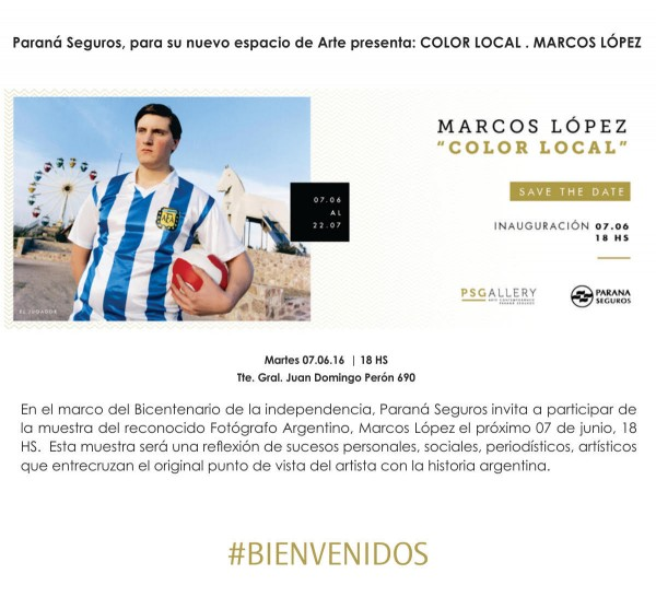 Marcos López, Color local