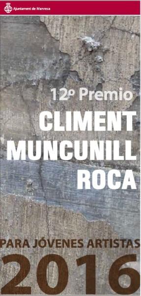 12è Premi Climent Muncunill Roca per a Joves Artistes