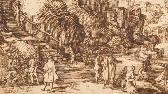 Desenhar para gravar. Séculos XVI-XIX