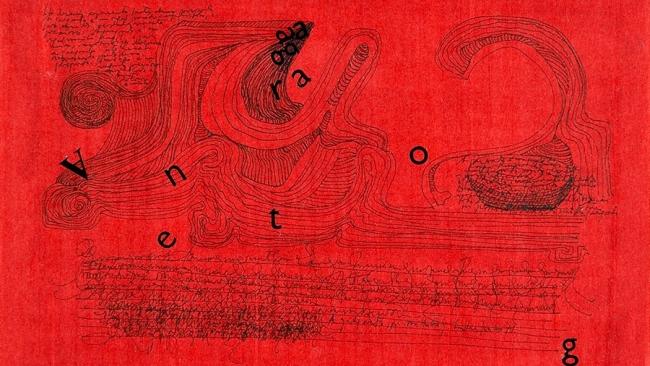 ANA HATHERLY E O BARROCO. NUM JARDIM FEITO DE TINTA Imagen cortesía de la Fundação Calouste Gulbenkian