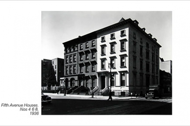 © Berenice Abbott/Commerce Graphics/Getty Images.  Cortesía de Howard Greenberg Gallery, Nueva York. Cortesía de Tabakalera.