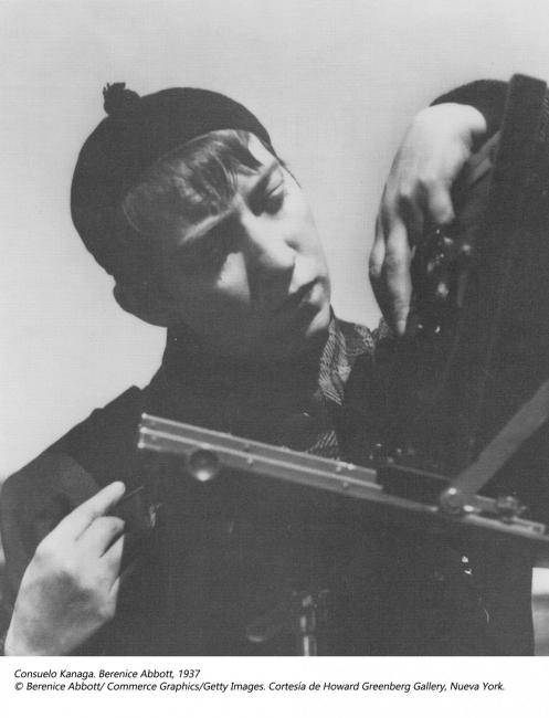 Berenice Abbott by Consuelo Kanaga, 1937 – Cortesía de Kutxa Kultur Artegunea