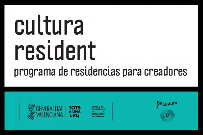 Cultura Resident. Programa de residencias para creadores. Convocatoria de mediación