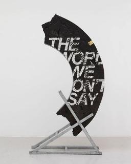 THE WORDS WE WON´T SAY de Ivan Argote - Cortesía Embajada de Colombia