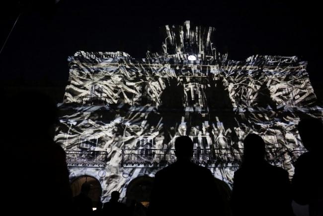 Imagen de la inauguración — Cortesía del Festival Luz y Vanguardias