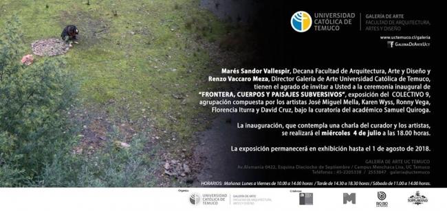 Frontera: cuerpos y paisajes subversivos