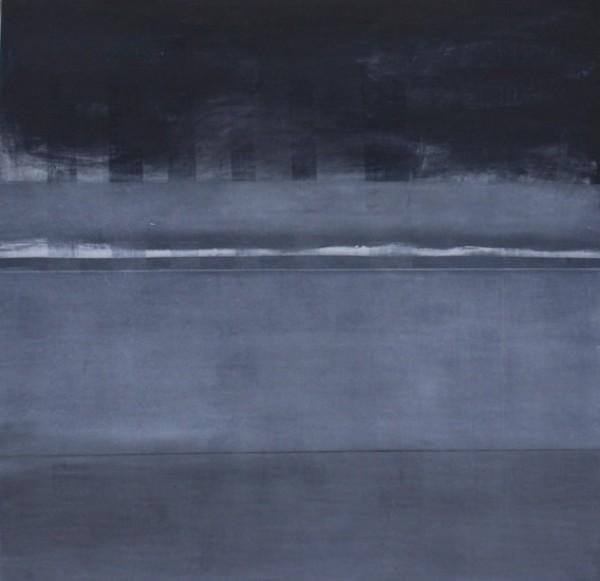 Flávio Delgado, #140415, Técnica mista s/ tela, 132x132 cm, 2015