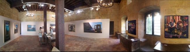 Panorámica Sala Torre Luzea | Ir al evento: 'Eduardo Alsasua'. Exposición de Pintura en Torre Luzea / Zarautz, Guipúzcoa, España