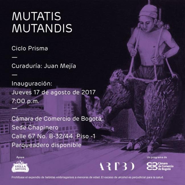 Mutatis mutandis | Ir al evento: 'Mutatis mutandis'. Exposición de Pintura en Cámara de Comercio de Bogotá (CCCB) - Centro Empresarial Chapinero - ARTBO Chapinero / Bogotá, Distrito Especial, Colombia