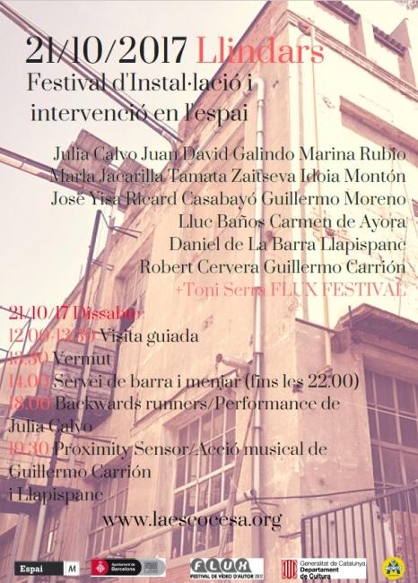 Llindars, Festival d'instal·lació i intervenció en l'espai públic