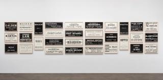 Fernando Bryce, ARTnews 1944-47, 2015