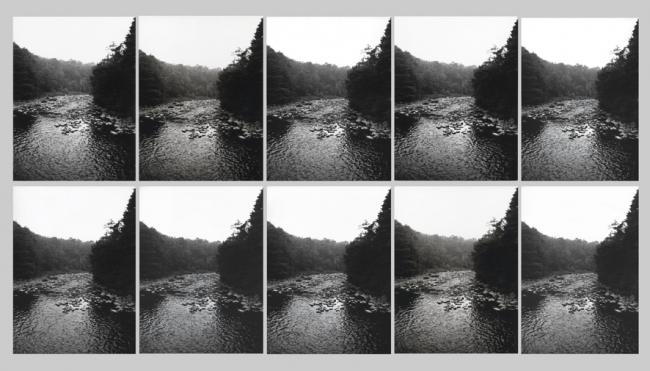 Leandro Katz, Caída del Indio - 10 Segundos, 1973 | Ir al evento: 'Ecologías'. Exposición de Escultura, Fotografía, Pintura en Museo de Artes Plásticas Eduardo Sívori / Buenos Aires, Argentina