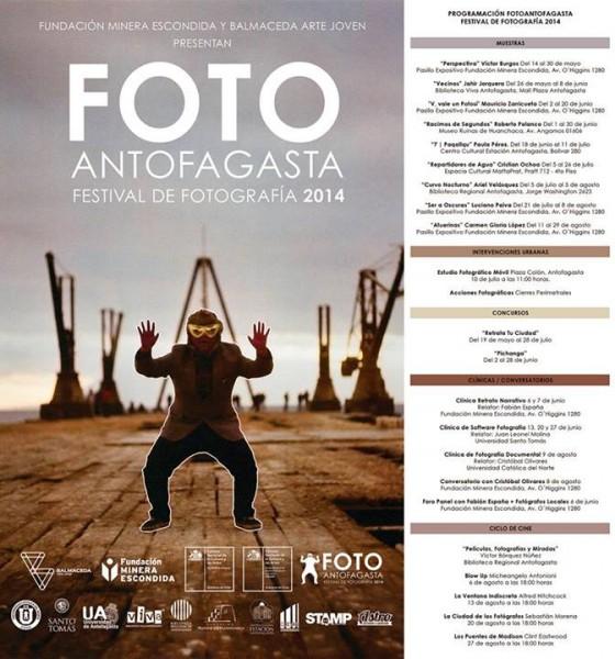 Foto Antofagasta. Festival de Fotografía 2014