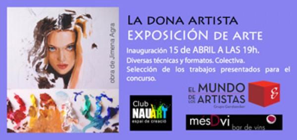 LA DONA ARTISTA EXPOSICIÓN