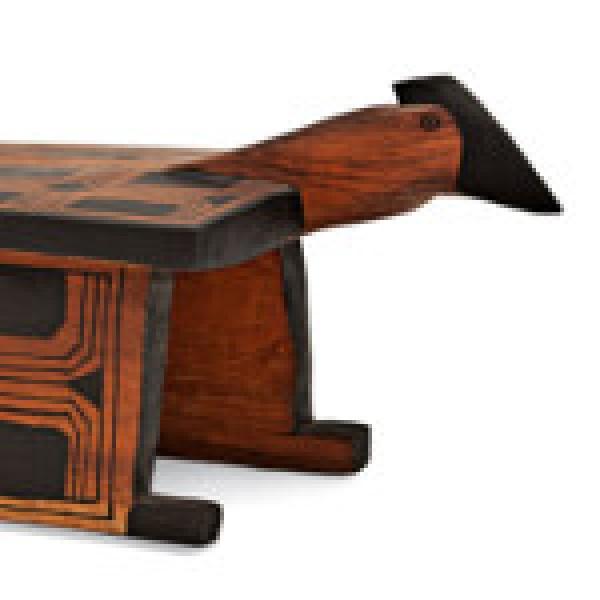 Mutum (detalle), 118 x 43 x 43 cm. Colección BEI. Foto: Rogério Assis
