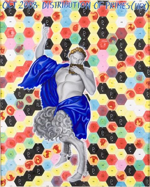 Keith Tyson. Cortesía de Galería Carles Taché