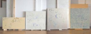 En el estudio del artista