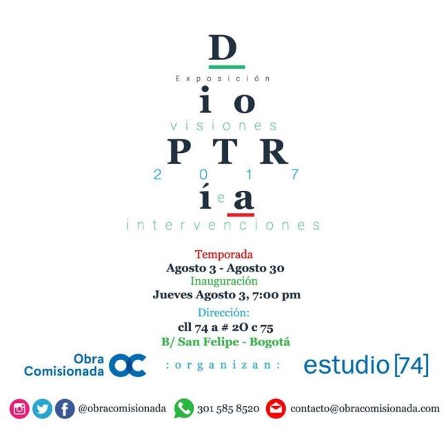 DIOPTRÍA, VISIONES E INTERVENCIONES