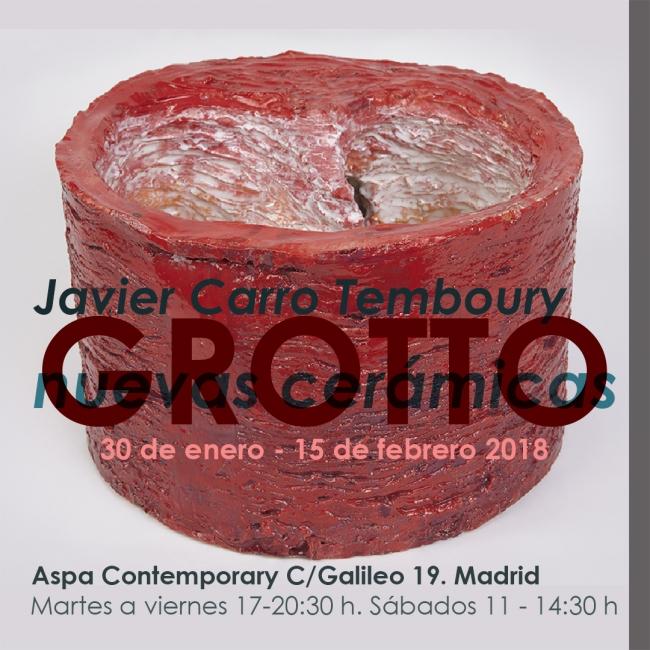 Grotto, NUevas Cerámicas, Javier Carro Temboury en Aspa Contemporary