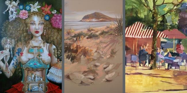 Exposición: Anas | Ir al evento: 'Anas'. Exposición de Pintura en Montsequi / Madrid, España