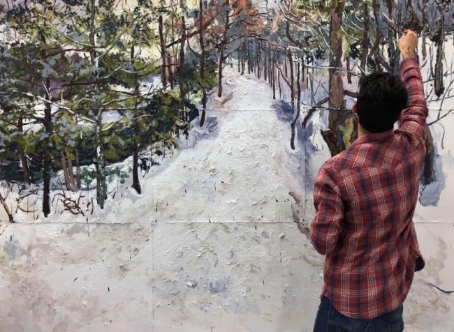 DOS LUGARES Y NINGUNO. Imagen cortesía Walter Otero Contemporary Art