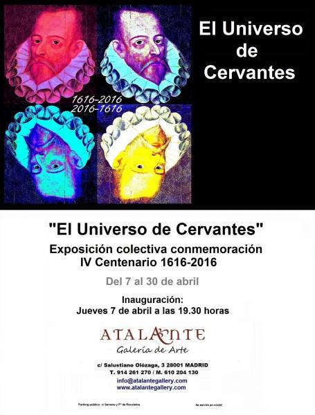 INVITACIÓN EXPOSICIÓN: EL UNIVERSO DE CERVANTES