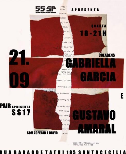 Gabriella Garcia e Gustavo Amaral
