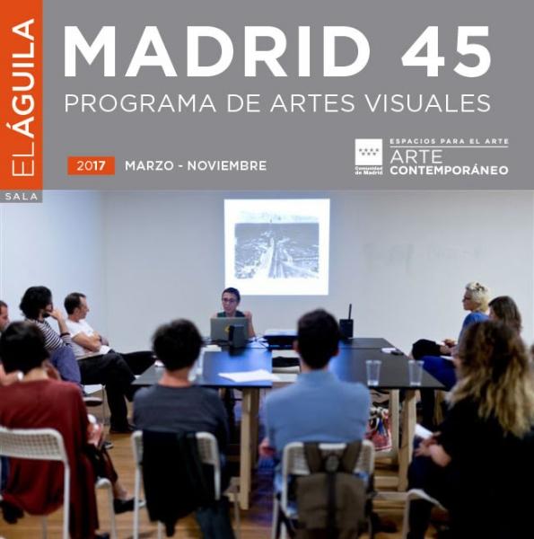 Imagen: sesión del taller `Tras las huellas de la ciudad inconsciente´, dirigido por Rogelio López Cuenca y Elo Vega. Madrid 45, 2016. Foto: Arantxa Boyero para Deseo Márquez