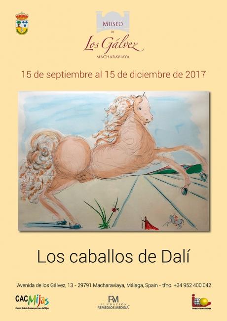 Los caballos de Dalí | Ir al evento: 'Los caballos de Dalí'. Exposición de Pintura en Museo de los Gálvez / Macharaviaya, Málaga, España