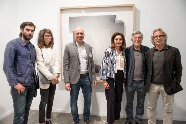 Stand de la galería Victor Lope Arte Contemporaneo. Cortesía de SWAB 2017