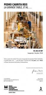 Pedro Cabrita Reis. La grande table, et al....