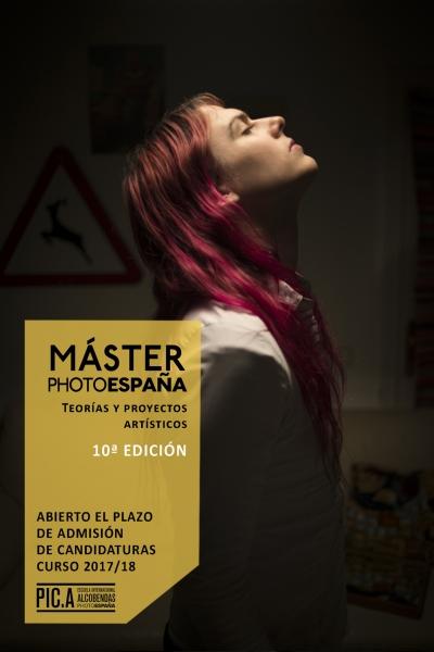 Máster PHotoEspaña 2017-18. Teorías y proyectos artísticos