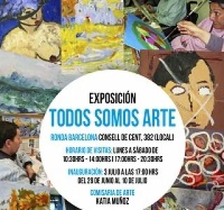 expo todos somos arte_comisaria katia muñoz