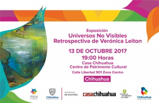 UNIVERSOS NO VISIBLES. RETROSPECTIVA DE VERONICA LEITON