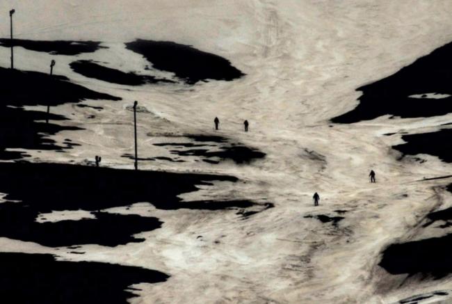 Lois Patiño. Montaña en la sombra, de la serie Eco de la Imagen, 2014