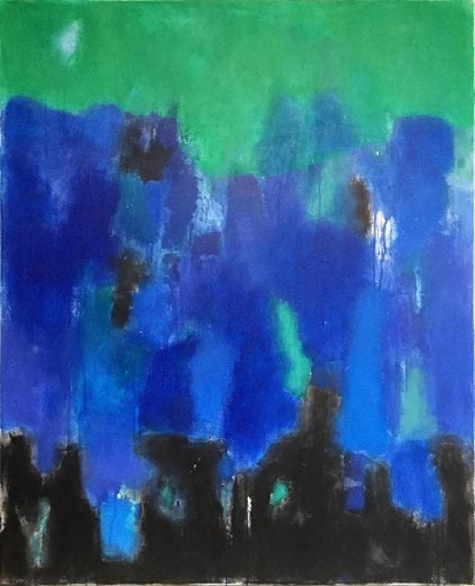 Luis Medina_Blue sea