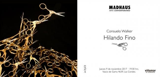 HILANDO FINO. Imagen cortesía Galería Madhaus