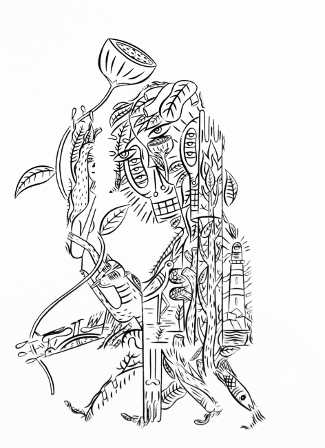 Javier de la Rosa, Yo mismo me impondré a mí mismo – Cortesía de la Galería de arte LUISA PITA