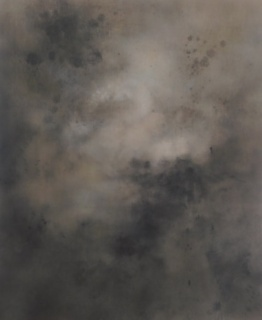 Michael Bilberstein, D Glider, 2005. Acrílico sobre papel, 86'6x70'9 cm. — Cortesía de la Galerie Jeanne Bucher Jaerger