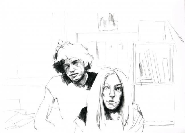 Aitor Saraiba y Paula Bonet —  Imagen cortesía de la galería Pepita Lumier