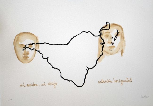Huacherías /ni otro /ni na. Imagen cortesía Aninat Galería
