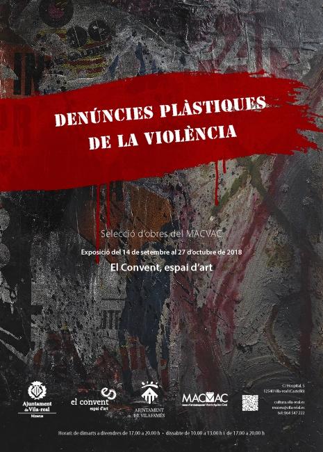 """""""Denúncies plàstiques de la violència"""""""
