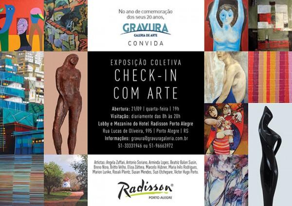 Check In com Arte