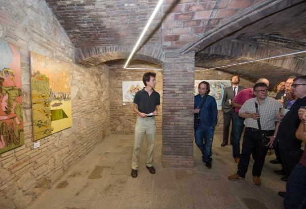 Exposició joves artistes becats 2015 per la Fundació Güell