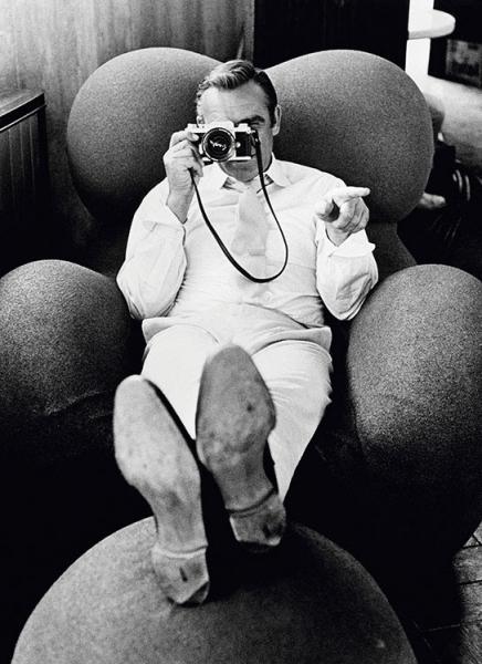 Sean Connery © Terry O´Neill. Cortesía MONDO GALERIA