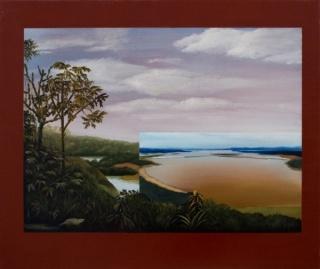 Gabriela Bettini, La memoria de los intentos, 2017, óleo sobre lienzo 55x65 cm.